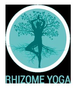 logo rhizome yoga vichy entête